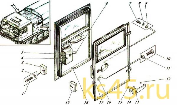 Дверь ТМ-120-50-сб134; ТМ 120-50-сб134-01(2)