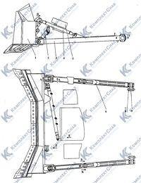 012001-92-5СП Оборудование бульдозерное сферическое 109