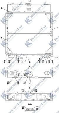 3506-60-109СП Радиатор 1.12