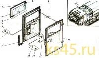 Дверь ТМ-120-50-сб134; ТМ 120-50-сб134-01