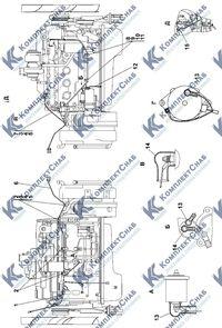 311106-10-12-01СП Электрооборудование двигателя 2.14