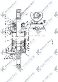 011501-97-502-01СП/-02СП Гидроцилиндр 160 124