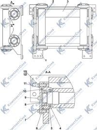 0901-96-11СП Установка роликов 7.22