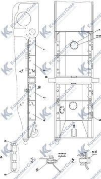 1101-64-3-01СП Установка кожухов 3.12