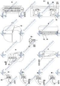 1102-10-13СП Электрооборудование крыши кабины 2.10