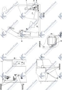 1102-10-18-21СП Электрооборудование пола кабины 2.11