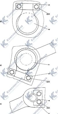1101-51-1СП Установка прицепного устройства 7.26