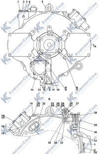 1101-14-2-01СП Гидротрансформатор с редуктором привода насосов 4.14