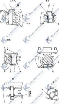 011101-93-3СП Оборудование бульдозерное полусферическое 7.2