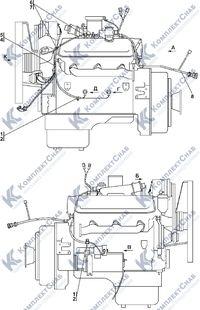 1102-10-12СП Электрооборудование двигателя 2.14