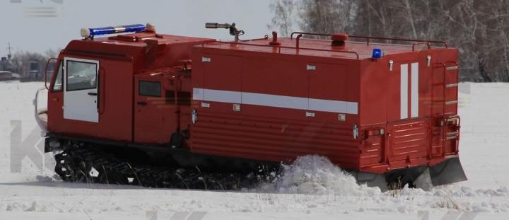 Машина первой помощи на базе гусеничного вездехода ТМ-140