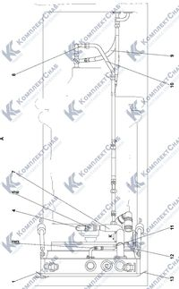 2502-60-2СП Система охлаждения двигателя и трансмиссии 1.8
