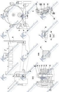 2502-01-1СП Установка двигателя ЯМЗ-8501.10 1.1