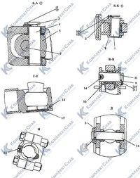 012001-93-5СП Оборудование бульдозерное полусферическое 113