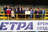 Китайская делегация побывала на знаменитом трактор-шоу ЧЕТРА