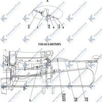1102-43-3СП Установка системы подогрева 1.5