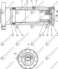 1101-21-38СП Шарнир 3.7