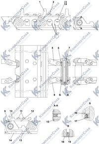 ТТ2501-22-1СП Гусеница 8.11