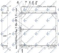 3506-60-109СП Радиатор 1.13
