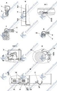1106-10-14-05СП Электрооборудование топливного бака 2.5