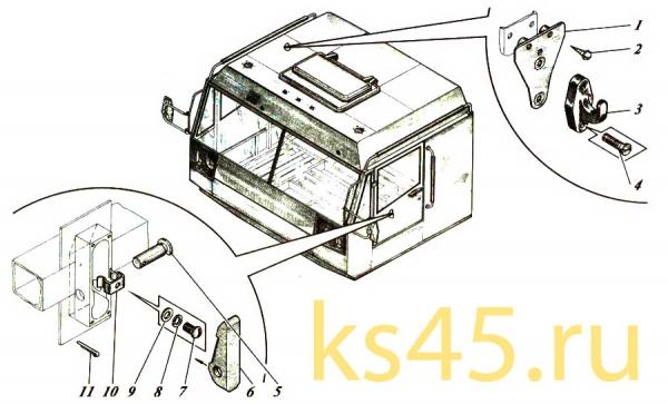 Кабина TM 120-57-сб301(3)