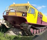 Вездеход ТМ130 после капитального ремонта