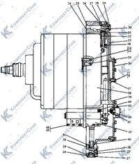 2501-12-19СП Коробка передач с системой гидроуправления 26