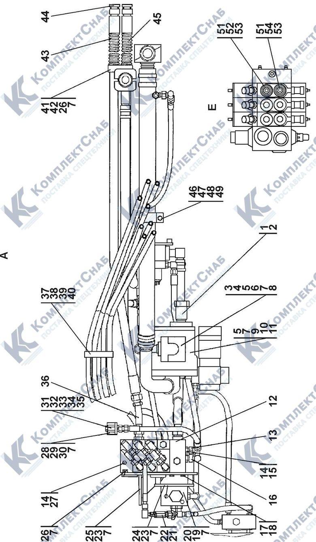 1101-26-2СП Установка гидросистемы 5.2