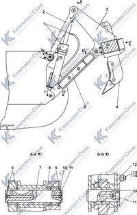011101-98-1-02СП Оборудование рыхлительное 7.15