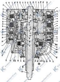 2001-12-10СП Коробка передач планетарная 27