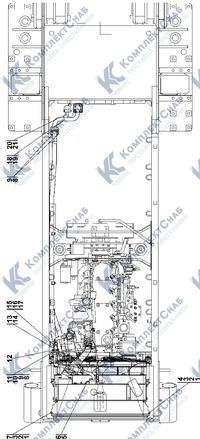 1106-60-4СП/-01СП Система охлаждения 1.6
