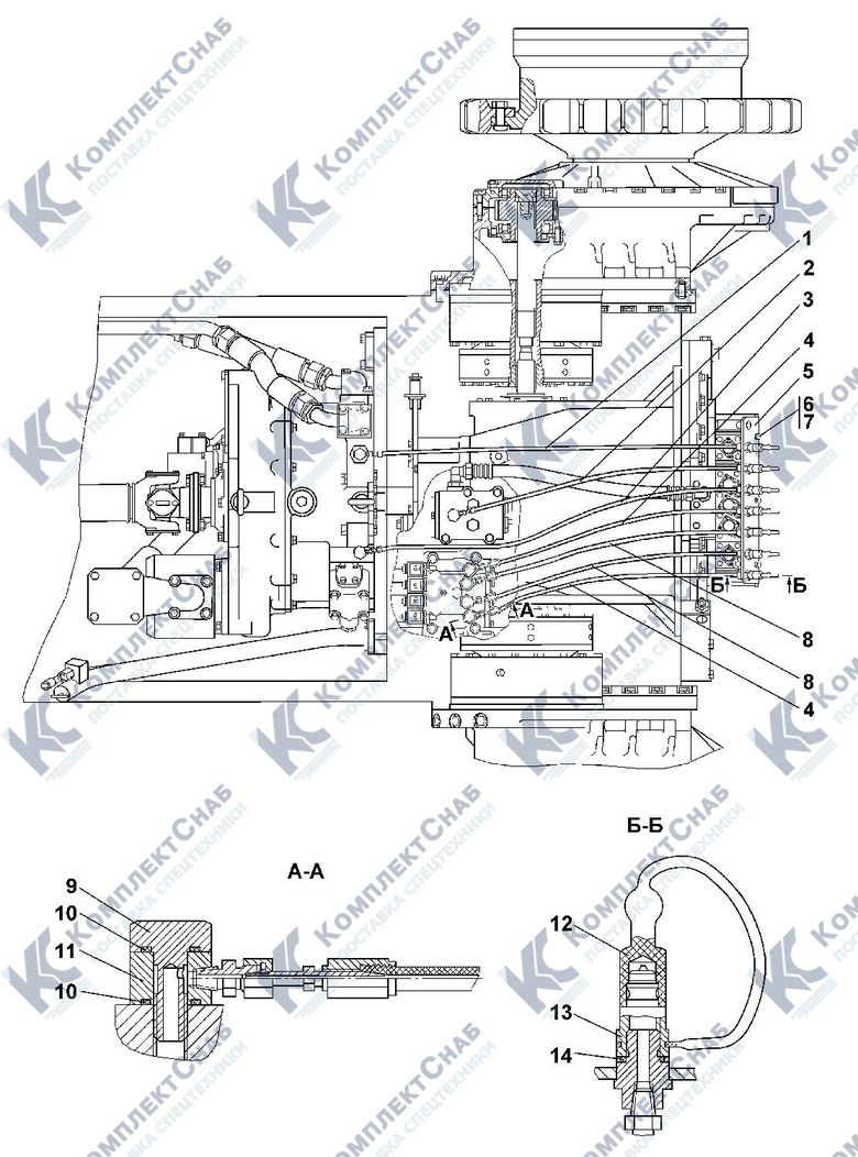 1101-15-22СП Система диагностики 4.18