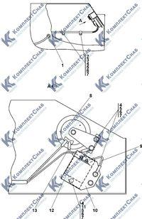 0902-10-15СП Установка звуковых сигналов в контейнере аккумуляторных батарей (АКБ) 2.8
