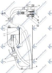 1101-47-1СП Установка отопителя кабины 58