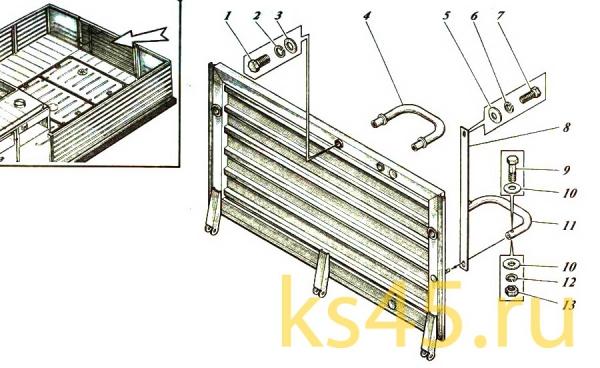 Дверь ТМ-120-50-сб134; ТМ 120-50-сб134-01(3)