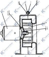 2501-57-107СП Вентилятор 64