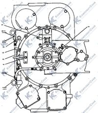 2501-20-2-02СП Установка редуктора привода насосов 34