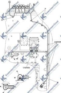 311102-10-17СП Электрооборудование трансмиссии 2.13