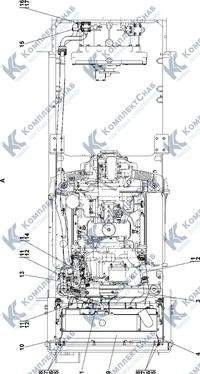 1102-60-4СП Система охлаждения 1.7