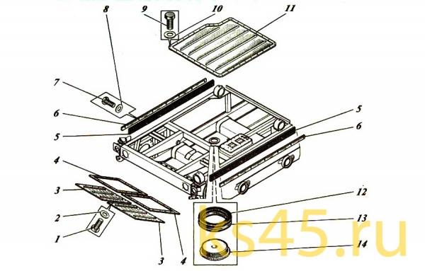 Корпус ТМ120-50-сб1 (установка крышек)