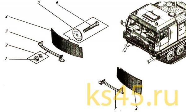 Корпус ТМ120-50-сб1 (установка фартуков)