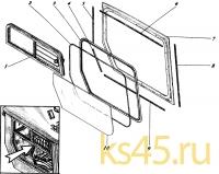 Окно правое 533-9-62-81-899-1К (Н)