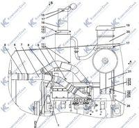 313516-05-1СП Установка систем воздухоочистки и выпуска 1.3