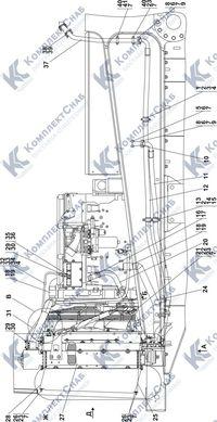 313516-60-2СП Система охлаждения 1.13