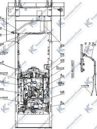 1522-43-1СП Установка системы подогрева 1.11