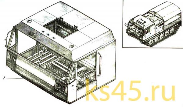 Каркас кабины TМ120-57-сб302