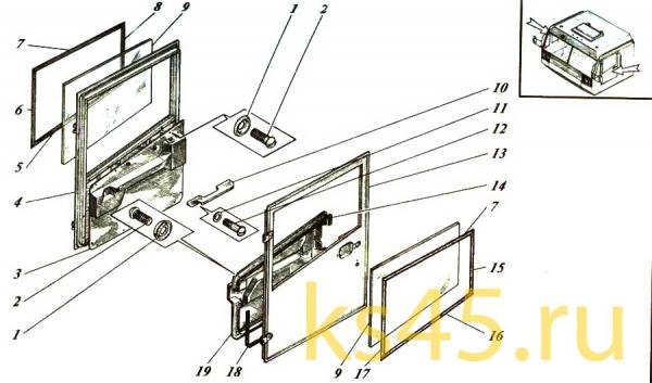 Дверь ТМ-120-57-сб465; ТМ 120-57-сб 465-01 (3)
