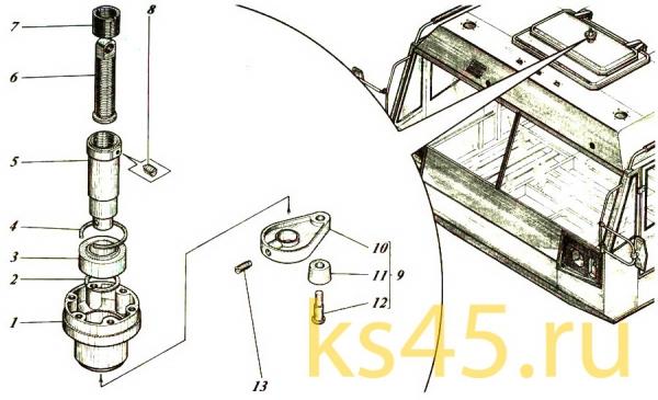 Механизм винтовой ТМ120-57-сб337