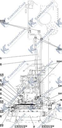 1106-60-4СП/-01СП Система охлаждения 1.5