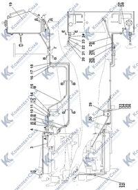 2002-25-1-01СП Установка топливного бака 1.6